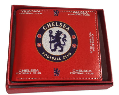 Chelsea Football Club Red Leather Wallet - SharePyar - 2