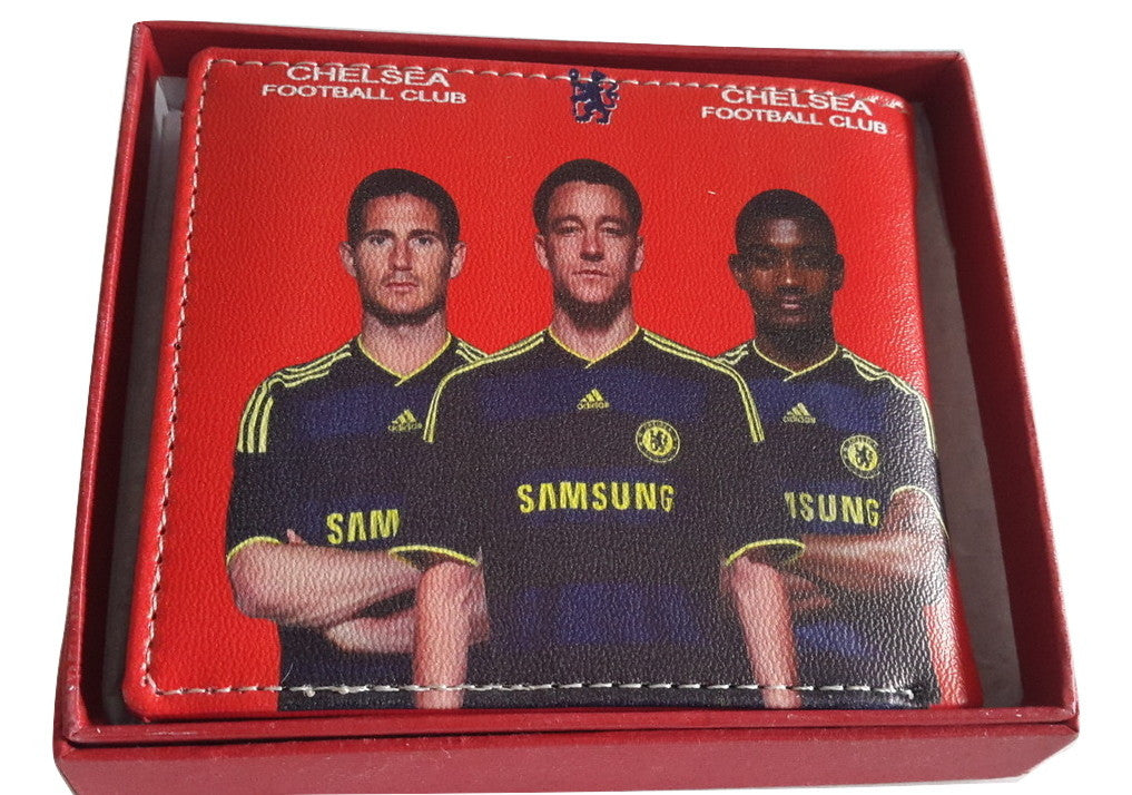 Chelsea Football Club Red Leather Wallet - Wallets - SharePyar