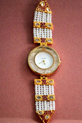 Citizen Kundan American Diamond Watch - Jewellery - SharePyar
