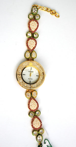 Citizen Kundan Fashion Watch - SharePyar - 3