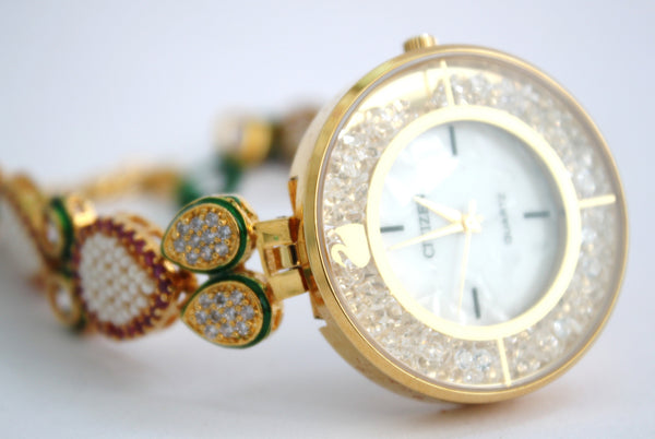 Citizen Kundan Fashion Watch - SharePyar - 4