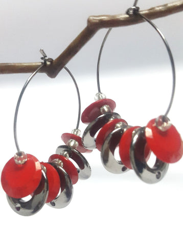 Designer Fashion Hoop Earring - Jewellery - SharePyar