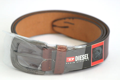 Diesel Leather Belt - Brown - SharePyar - 1