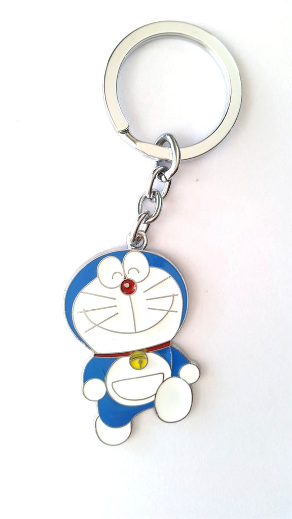 Doraemon ( Smiling ) Metal KeyChain - Key Chains - SharePyar