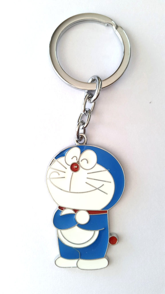 Doraemon ( Standing ) Metal KeyChain - Key Chains - SharePyar