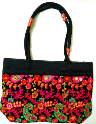 Embroidered Cloth Bag (Pattern4) - Wallets - SharePyar