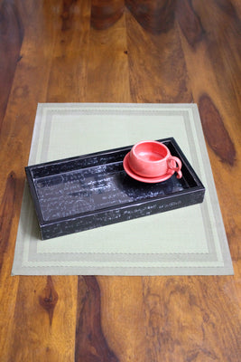 Equation Enamel Serving Tray - Platters - SharePyar