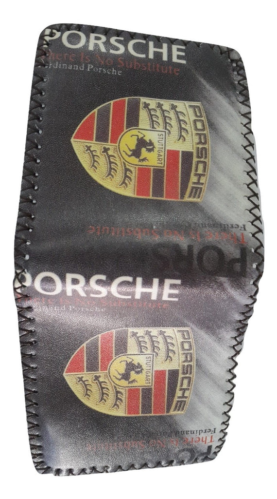 Fashion PU Leather Wallet, Design -Porsche Chocolate - Wallets - SharePyar