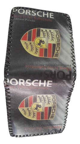 Fashion PU Leather Wallet, Design -Porsche Chocolate - SharePyar - 3