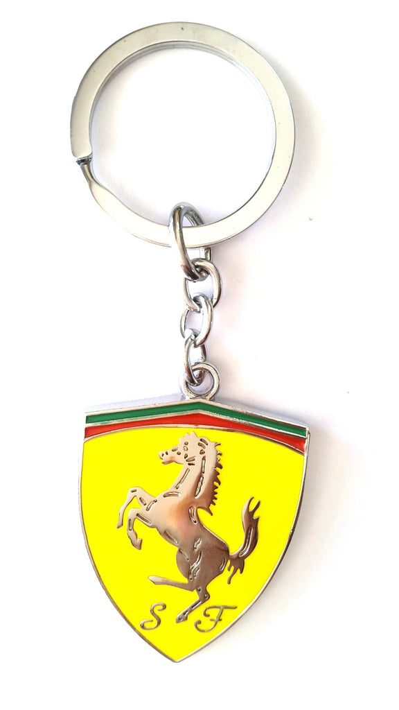 Ferrari Metal KeyChain - Key Chains - SharePyar