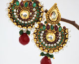 Gold Plated Antique Earrings - Jewellery - SharePyar