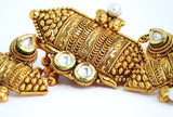 Traditional Gold Plated Kundan Necklace Set - Jewellery - SharePyar