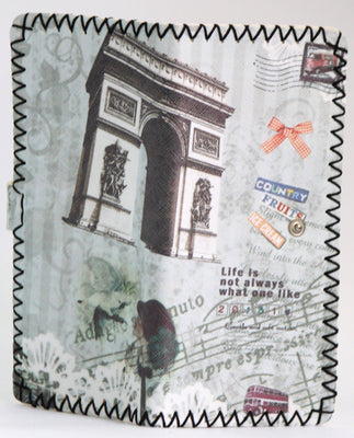 Handmade graffiti women Long purse ( Arc de Triomphe, Paris ) - Wallets - SharePyar