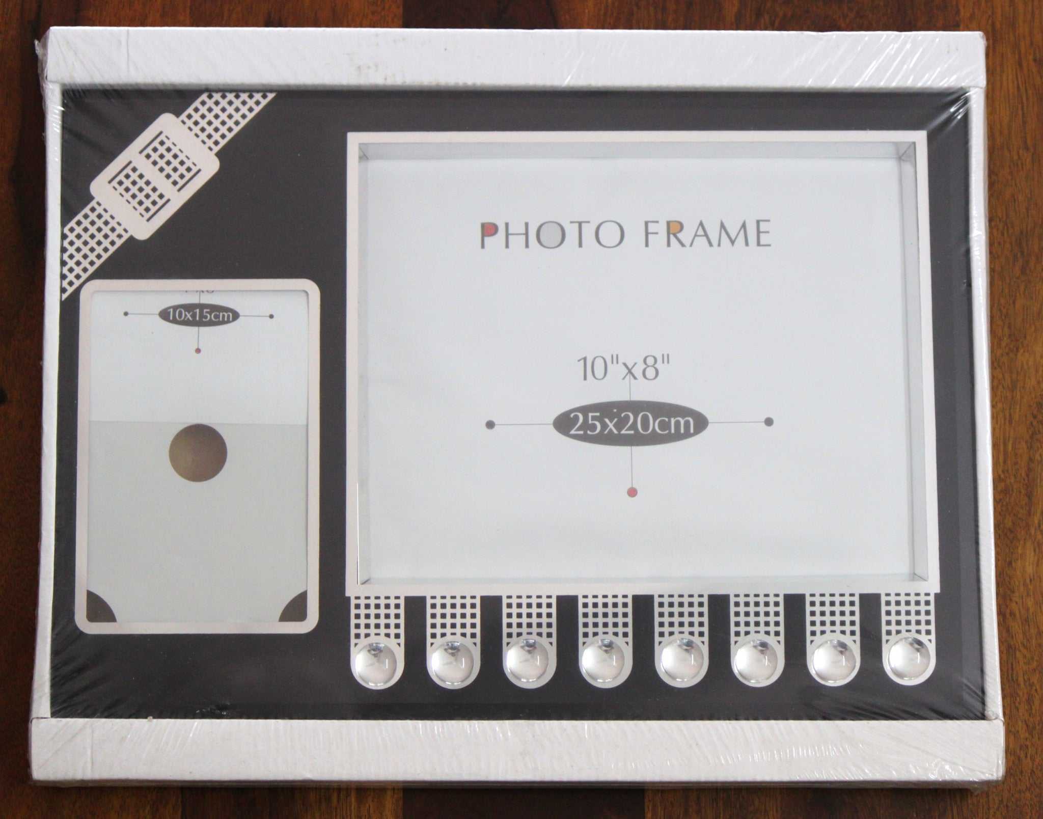 Large Family Photo Frame - Modern design(10X8 inches & 4X6 inches ...