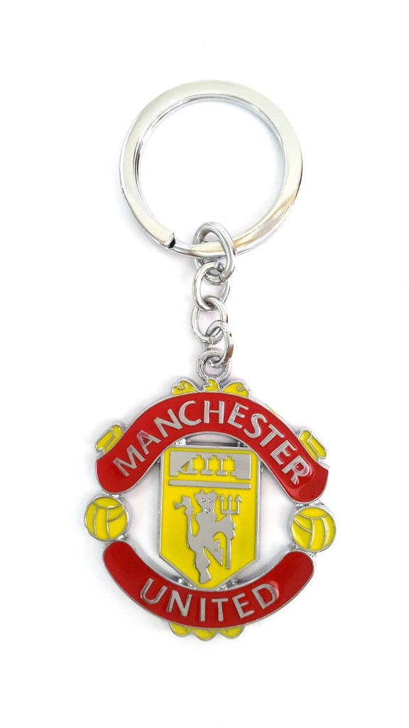 Manchester United F. C. Metal KeyChain - Key Chains - SharePyar