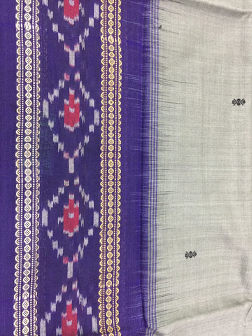 Mini Buti Sambalpuri Bandha Saree - SharePyar - 1