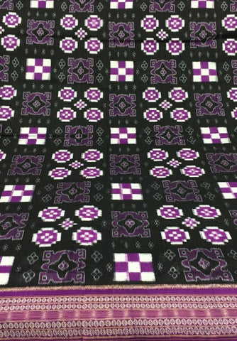 Mix Bandha and Sapta Sambalpuri Cotton Saree - SharePyar - 1