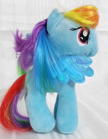 My Little Pony Cute Stuffed Plush Toys 7.8 inch- Rainbow Dash - SharePyar - 1