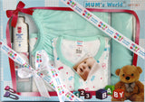 Newborn Baby 6 Piece Gift Set for Baby Boys - Baby Gift Set - SharePyar