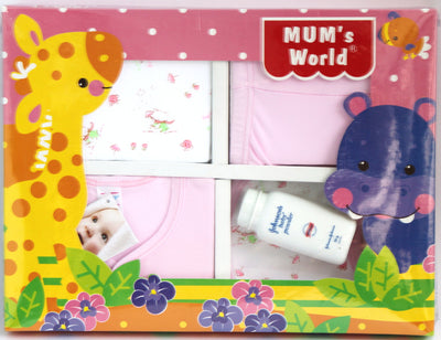 Newborn Baby 5 Piece Gift Set for Baby Girls - Baby Gift Set - SharePyar