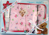 Newborn Baby Gift Set, Baby Girl, 6 Piece Set - Baby Gift Set - SharePyar