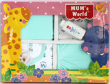 Newborn Baby Gift Set for Boys, 5 Piece Set - Baby Gift Set - SharePyar