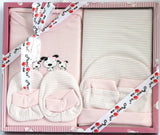 """Precious One"" Newborn Light Pink Gift Set,  5 Pieces, Girls - SharePyar"