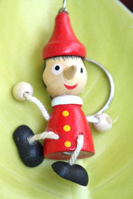 Pinocchio Wooden Keyring (Set of 10) - Key Chains - SharePyar