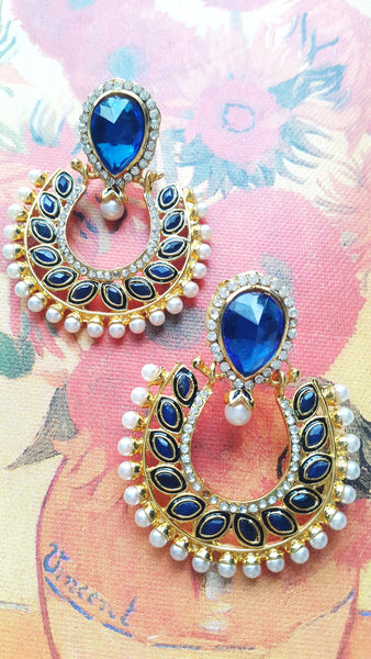 Polki Fashion Earrings - SharePyar - 1