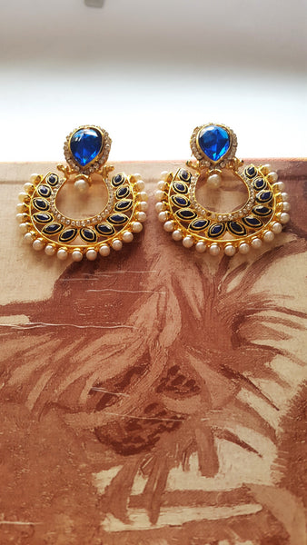 Polki Fashion Earrings - SharePyar - 2