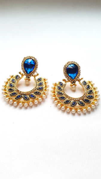 Polki Fashion Earrings - SharePyar - 3