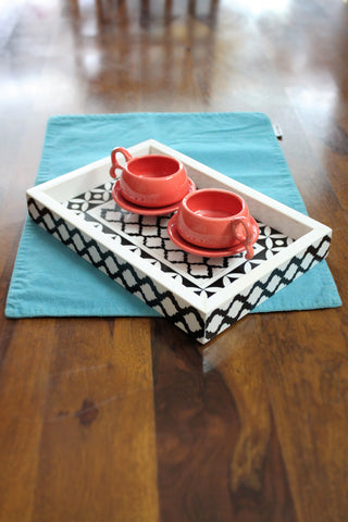 Resin Tray, Geometric Pattern - SharePyar - 1