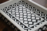 Resin Tray, Geometric Pattern - Platters - SharePyar