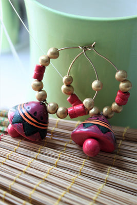 Terracotta Beaded Bali - Jewellery - SharePyar