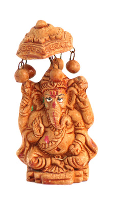Terracotta Ganesha Idol - Set of 10 - Crafts - SharePyar