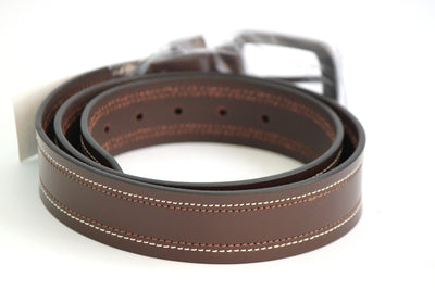 Tommy Hilfiger Leather Belt - Brown - Belts - SharePyar