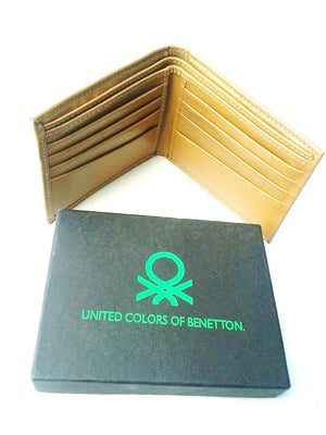United Color of Beneton leather wallet - Wallets - SharePyar