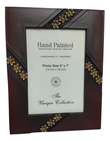 Washable Hand Painted Designer Photo Frames ( 5X7 inch ) - SharePyar - 1