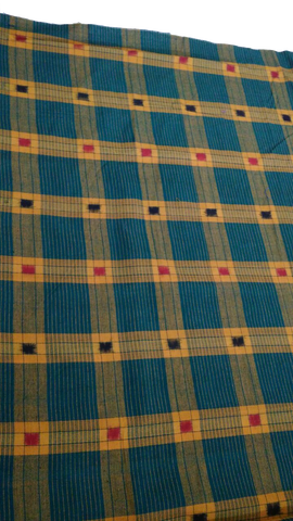 New Handloom Sambalpuri Cotton Shirt/Kurta Material unstitched