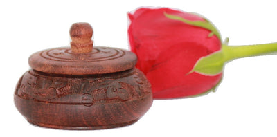 Wooden Sindoor Dabbi ( VERMILION Container ) - Crafts - SharePyar