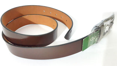 Woodland Leather Belt - Brown - Belts - SharePyar