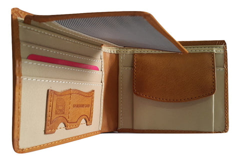i-hope Leather Brown Wallet - SharePyar - 1