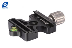 LEOFOTO DC-50 CLAMP ARCA and MANFROTTO TRIPOD MOUNT
