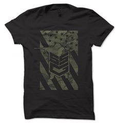 Sand Sock Gear Flag T-Shirt Black