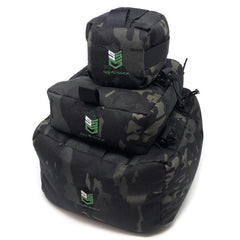 Sand Sock Gear Black Multicam Shooting Bag Set