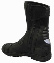Load image into Gallery viewer, Leather Motorcycle Boot With Shin Protection