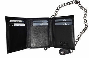 Chain Wallet Black