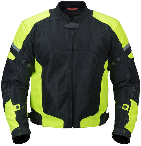 Strike Summer Jacket With Hi Viz Panels