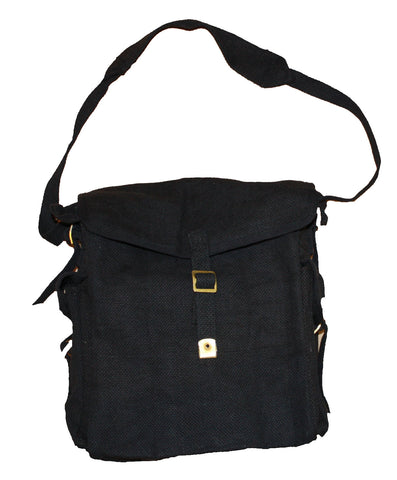 Image of Canvas Messenger Shoulder Bag-BG058