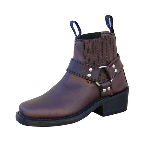 Image of Johnny Reb Classic Short Womens Riding Boots Choc-JR80200